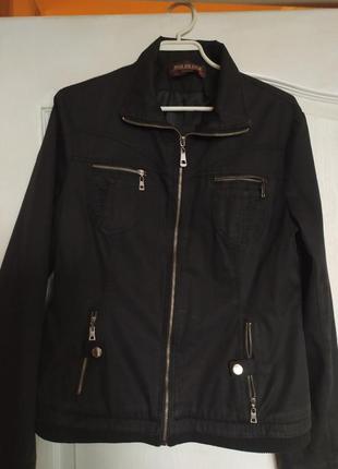 Курточка из хлопка весенняя