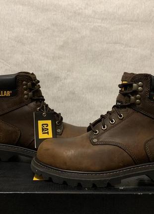 Ботинки cat second shift steel toecaterpillar {46} оригинал p89586