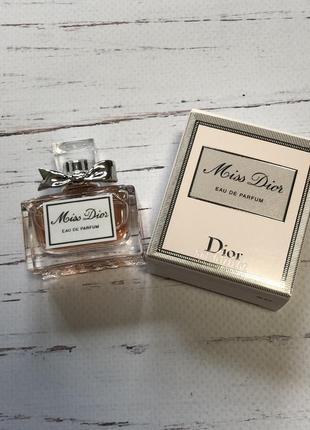 Миниатюра dior miss dior eau de parfum
