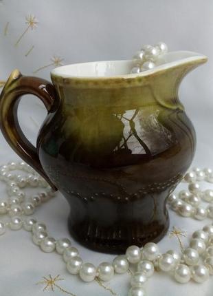 Кувшин (молочник), керамика фаянс глечик ссср, буди