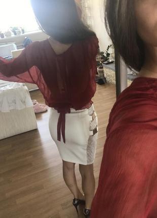Костюм -топ и юбка3 фото