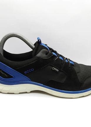 Оригинальные термо кроссовки ecco (мембрана gore-tex, натуральная кожа)