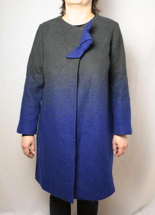 Пальто armani collezioni оригинал шерсть