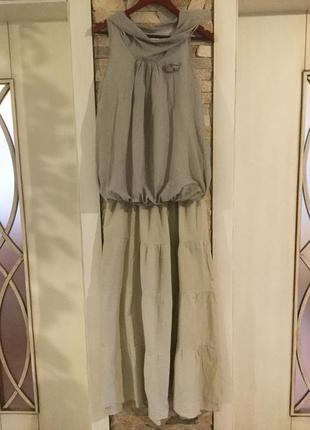 Воздушный костюм мятного цвета.от бренда zebra. италия.