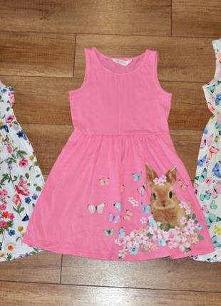 Платье новое красивое h&m 128-140 см 8-10 лет