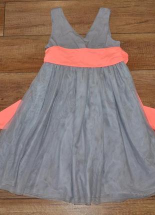 Платье стильное, нарядное kiabi nky 134-140 см 9-10 лет