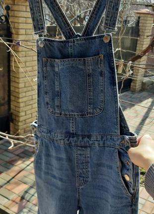 Шикарный джинсовый комбинезон