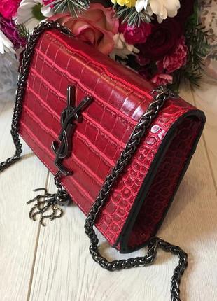 Женская сумка через плече/сумка кросс-боди/женская красная сумка/стильная сумка
