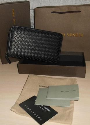 Клатч, кошелек мужской bottega veneta, кожа, италия 1256 оригинал