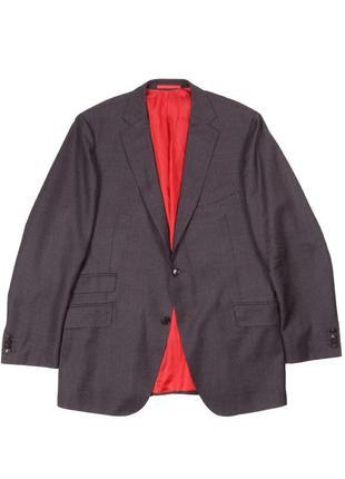 Шерстяной пиджак из 100% итальянской шерсти suitsupply ( hugo boss reis cos )