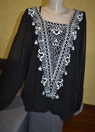 Блуза,  вышиванка 20р