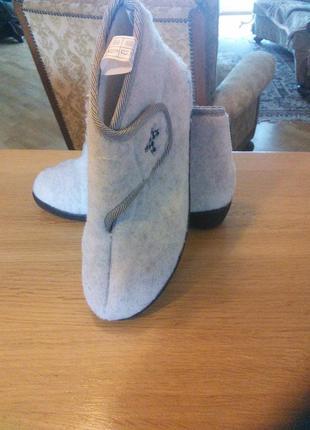 Тапочки, ботиночки,теплая домашняя обувь