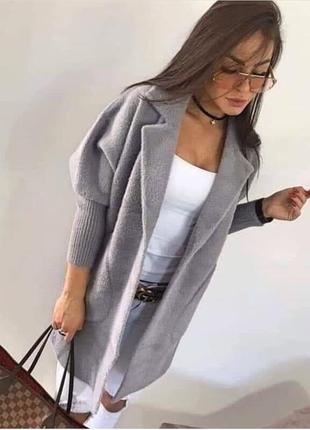 Альпака пальто шерсть
