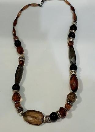 Красивый  стильные бусы ожерелье  бижутерия