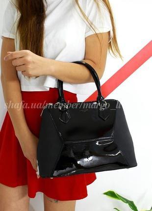 Женская сумка david jones 5832-3 черная