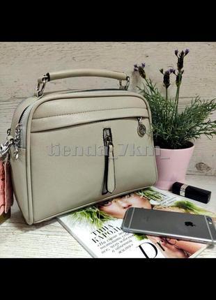 Женская сумка через плечо / клатч eteralsmile hx124  gray