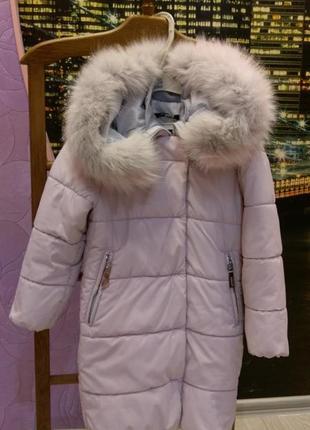 Красиво пальто для девочки