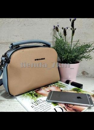 Женская сумка через плечо / повседневный клатч eteralsmile hx136  blue/pink