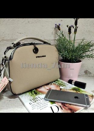 Женская сумка через плечо / повседневный клатч eteralsmile hx136 gray/khaki