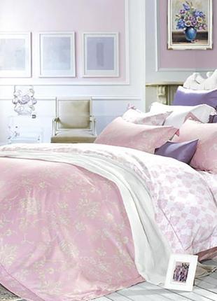 Французский комплект постельного белья семейный, хлопок 100% (сатин-люкс)