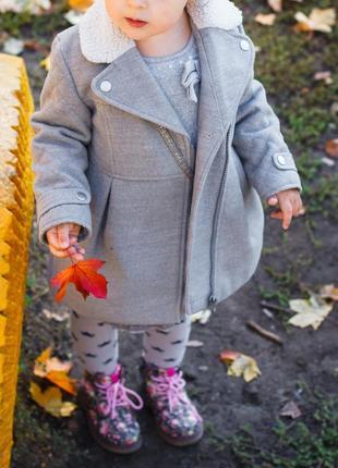 Деми пальто на девочку