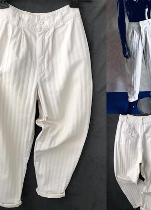 Шикарные джинсы мом в полоску идеал s