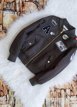 Бомбер, куртка для девочки