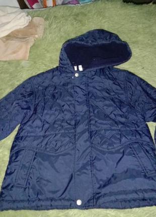 Демисезонная куртка парка oversize на девочку3-5лет