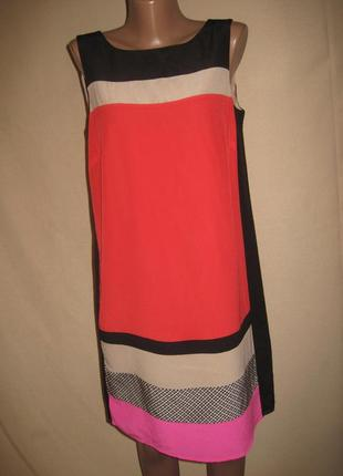 Платье из натурального шелка monsoon р-р12