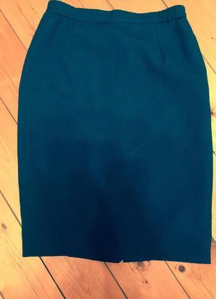 Юбка классическая прямая,английское качество,шерсть костюмная