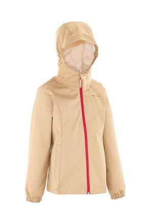 Куртка ветровка для девочки quechua р. 134-142 (9-11 лет) на подкладке