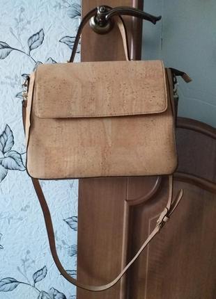 Cork eco  сумка из пробкового дерева