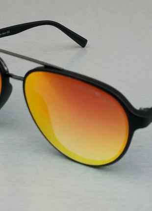 Giorgio armani очки капли унисекс солнцезащитные оранжевые зеркальные