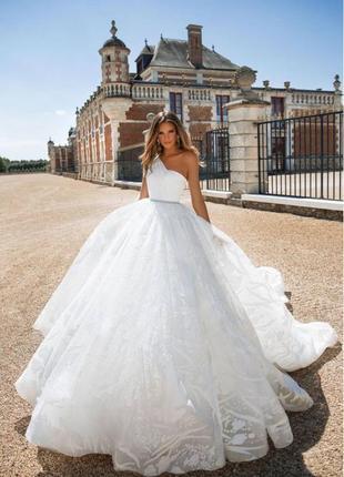 Свадебное платье milla nova/весільна сукня milla nova
