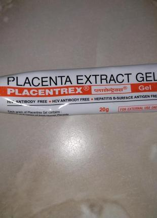 Гель плацента,placenta extract gel