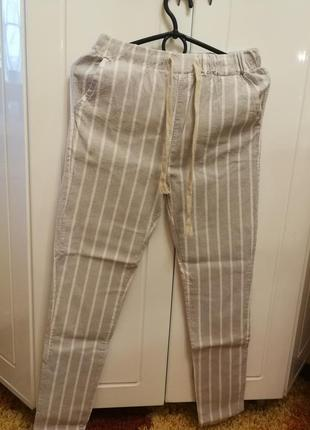 Женские лёгкие штаны