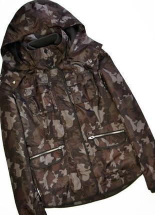 Женская демисезонная куртка парка в стиле милитари next