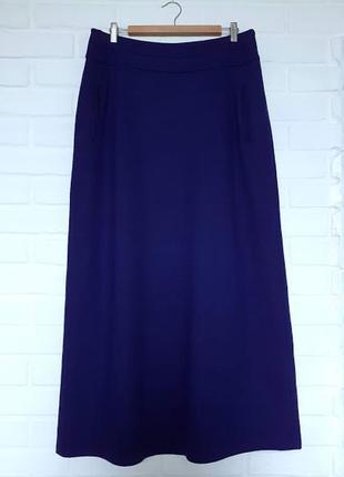Длинная юбка бурвин burvin из шерсти 48 размера