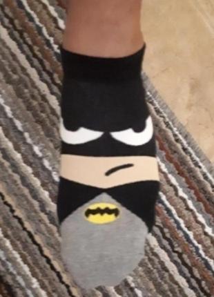 Носки superheros, бэтмен, капитан америка, счастливые носки, забавные, хлопковые