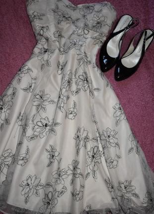 Вечернее платье f&f, выпускное платье