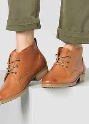 Ботинки из натуральной, плотной, очень качественной кожи apple of eden.