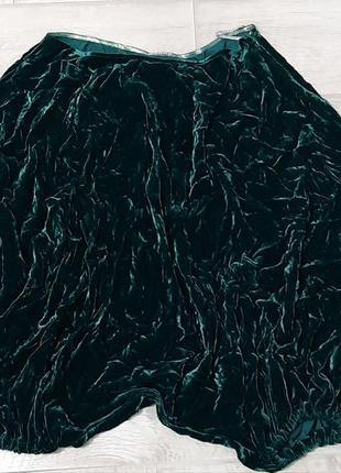 Ткань дороже! бархатные шароварчики/бриджи/юбка, anna bublik, 52-54 р.