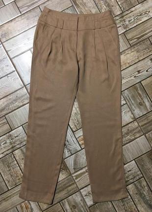Обалденные лёгкие брюки из lyocell ,кемел,promod,morocco