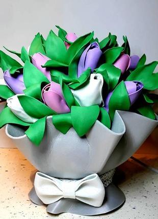 Світильник нічник букет тюльпанів