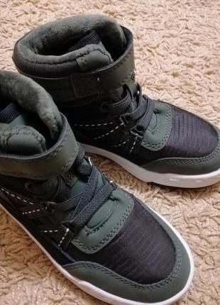 Ботинки хайтопы h&m сапоги демисезон