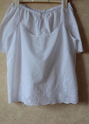 Шикарная хлопковая пижама /комплект для дома и сна f&f