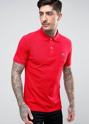 Поло/тенниска lacoste polo shirt in petit piqué