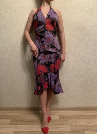 Летний женский костюм karen millen