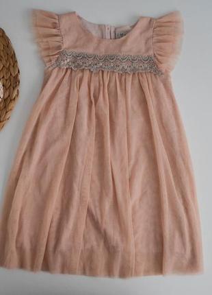 Платье некст на 4-5л.