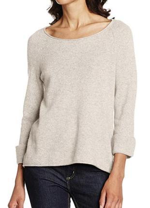Кашемировый ♥️😎♥️ шерстяной джемпер свитер comma.